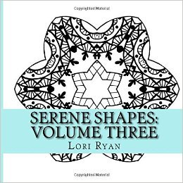 Book Cover: Serene Shapes: Coloring Your Way to Calm Vol 3