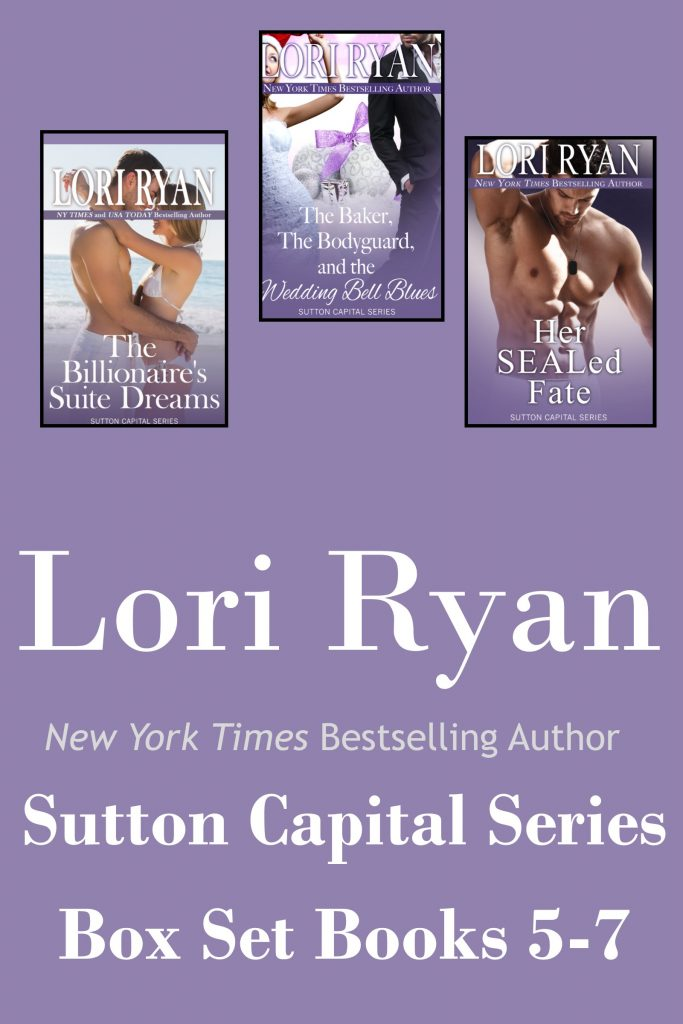 Book Cover: Sutton Capital Series Box Set: Books 5-7