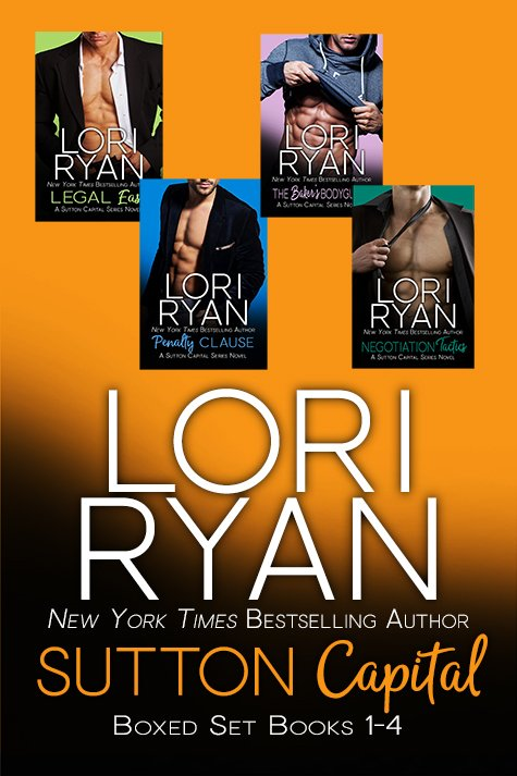Sutton Capital Boxed Set 1-4 contemporary romantic suspense NY Times Bestselling Author
